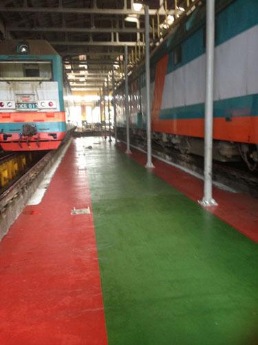 РЖД (цех по ремонту локомотивов)