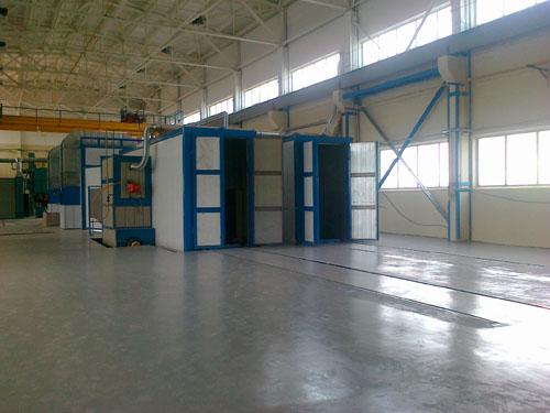 Завод элементов трубопроводов (Цех ППУ изоляции)